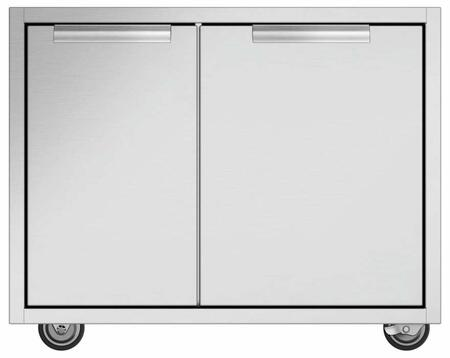 DCS CAD130 Grill Cart Stainless Steel, Main Image