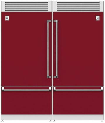 Hestan  915971 Refrigerator Pairs Red, Main Image