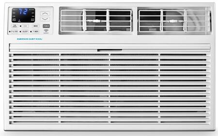 EATE12RSD2T Emerson Quiet Kool 12 000 BTU Cooling Capacity  10 600 BTU Heating Capacity  230V Smart Through The Wall Air Conditioner with Heating