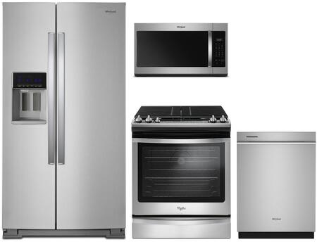 Whirlpool 1054530 Kitchen Appliance Package & Bundle Stainless Steel, main image