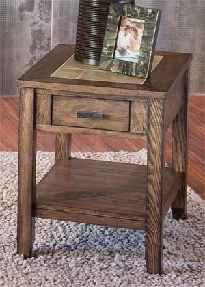Liberty Furniture Mesa Valley 147OT1021 End Table Brown, Main Image