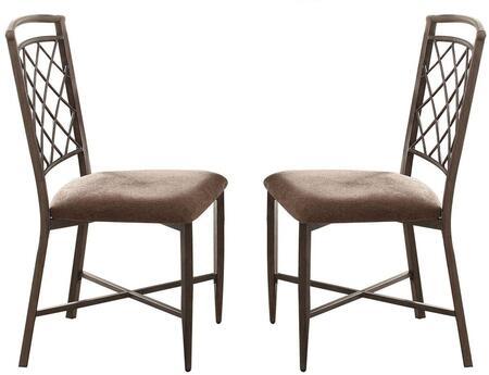 Acme Furniture Aldric 73002 Dining Room Chair Black, 1