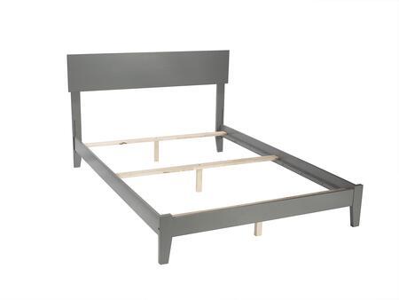 Atlantic Furniture Orlando AR8131039 Bed Gray, AR8131039