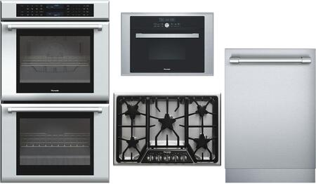 Thermador 695086 4 piece Stainless Steel Kitchen Appliances Package