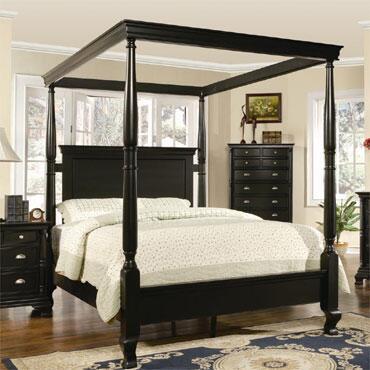 Myco Furniture St. Regis SR8201K Bed, 1