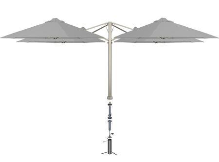 Shadowspec SU6 Series KITP6SQ25QTOGAGREA Outdoor Umbrella Gray, Slate Grey