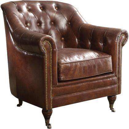 Acme Furniture Aberdeen 53627 Living Room Chair Brown, Chair