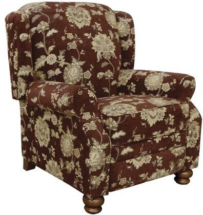 Jackson Furniture Belmont 434711267834 Recliner Chair Red, Main Image