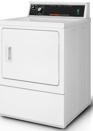 Speed Queen SDEMNRGS173TW01 Commercial Dryer White, 1