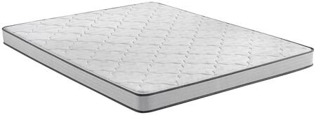 BR Foam 700810001-1040 Full Extra Long Firm 5″ Mattress with 1/2″ Firm Comfort Foam  4-1/2″ Firm Support System and GelTouch