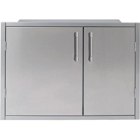 Alfresco AXEDSP30L Storage Drawer Stainless Steel, AXEDSP30L Front View