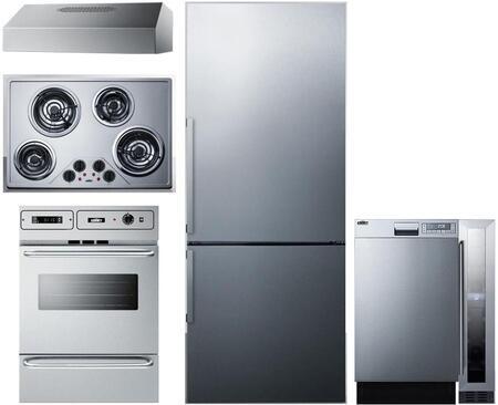 Summit 1114270 Kitchen Appliance Package & Bundle Stainless Steel, main image