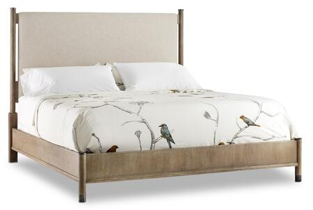 Hooker Furniture Affinity 605090960GRY Bed Beige, Silo Image
