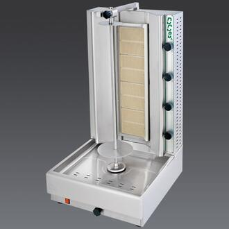 DG10A N Gas Gyros and Shawarma Machine 10 Burners with Thermostatic