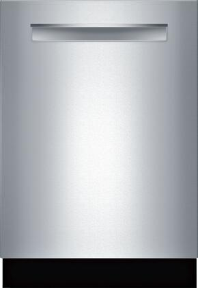Bosch 500 Series SHP865ZD5N Built-In Dishwasher Stainless Steel, Front View