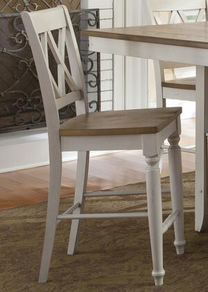 Liberty Furniture Al Fresco III 841B300024 Bar Stool White, Main Image