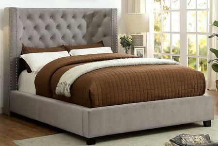 Furniture of America Cayla CM7779GY-Q-BED Main Image