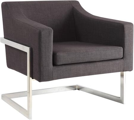Coaster Accent Seating 902530 Accent Chair Gray, Main Image