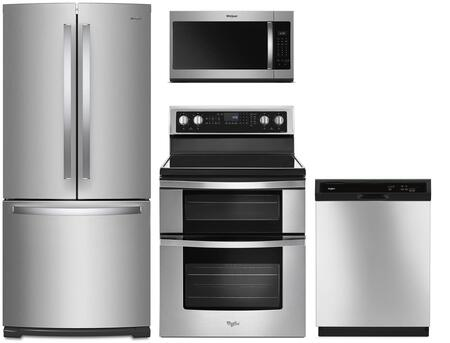 Whirlpool  991671 Kitchen Appliance Package Stainless Steel, Main Image