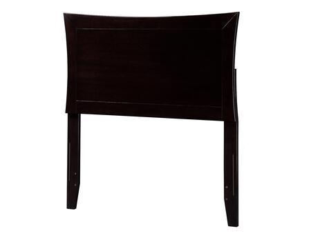 Atlantic Furniture Metro AR290821 Headboard Brown, AR290821 SILO F 180