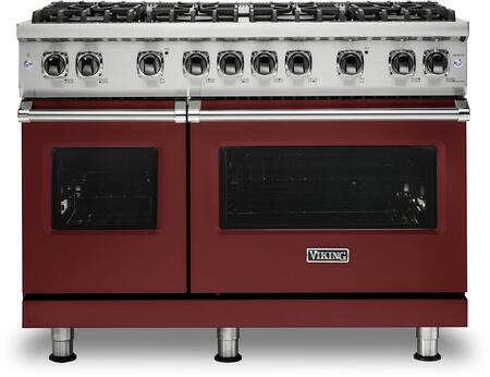Viking 5 Series VGR5488BRE Freestanding Gas Range Red, VGR5488BRE Gas Range