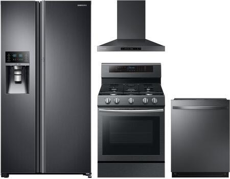 Samsung 1011464 Kitchen Appliance Package & Bundle Black Stainless Steel, Main