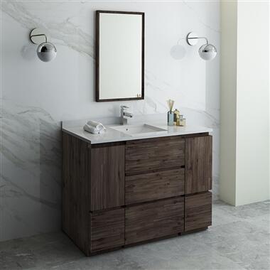 Formosa Collection FVN31-122412ACA-FC 48″ Floor Standing Modern Bathroom Vanity with