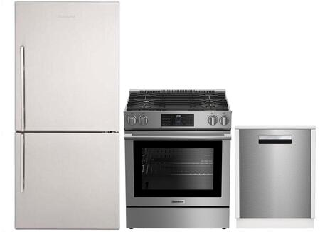 Blomberg 864730 Kitchen Appliance Package Stainless Steel, 1
