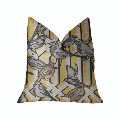Plutus Brands Song Bird Gardens PBRA22862222DP Pillow, PBRA2286