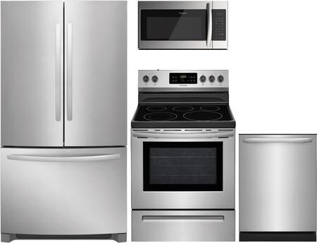 Frigidaire  1360731 Kitchen Appliance Package Stainless Steel, main image
