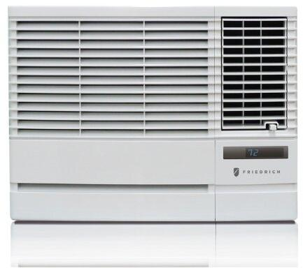 CP08G10B 19 Chill Series Energy Star Air Conditioner with 8000 BTU Cooling  Washable Antimicrobial Air Filter  24 Hour Timer  3 Cooling and Fan