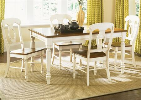 Liberty Furniture Low Country 79CDO5RLS Dining Room Set Multi Colored, Main Image