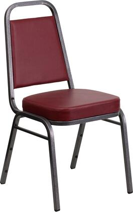 Flash Furniture Hercules FDBHF1SILVERVEINBYGG Accent Chair Red, FDBHF1SILVERVEINBYGG side
