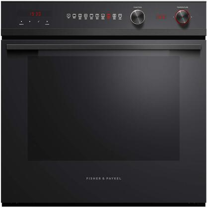 OB24SCD9PB1 24″ Built-In Oven with 3 cu. ft. Capacity  9 Functions  Self Cleaning  CoolTouch Door  in Black