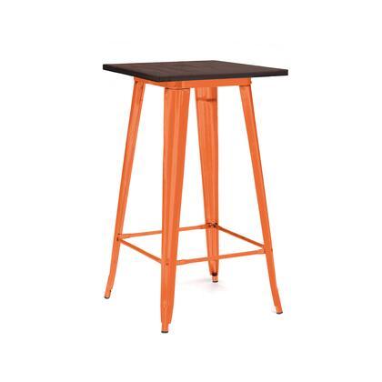 Design Lab MN Dreux LS9110ORAW Bar Table Orange, 240b10dc 59c5 487f a0ae 27812ca5f9ec