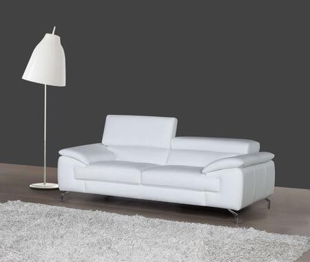 J and M Furniture A973 1790611S Stationary Sofa White, Main image