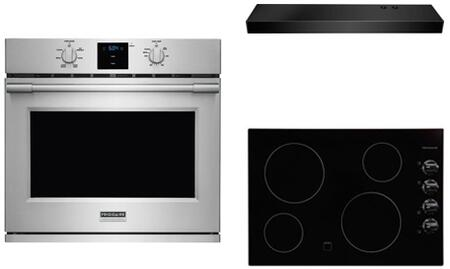 Frigidaire 800567 Kitchen Appliance Package & Bundle Black, 8