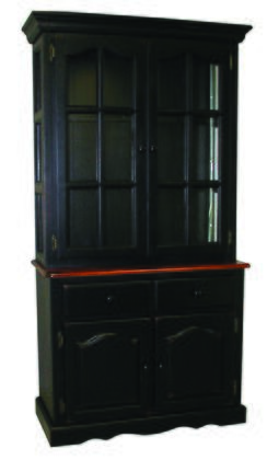 Sunset Trading Sunset Black Cherry Selections DLU19BHBCH China Cabinet Multi Colored, Main Image
