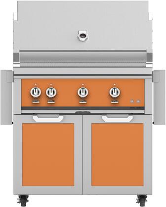 Hestan  851251 Liquid Propane Grill Orange, Main Image