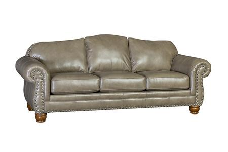 Chelsea Home Furniture Ichiro 393180L10SSC Stationary Sofa Gray, 393180L10SSC Front