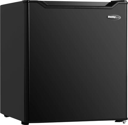 DAR016B1BM 18″ Compact Refrigerator with 1.6 cu. ft. Capacity  Energy Star Compliant  Auto Defrost and 1 Wire Shelf in