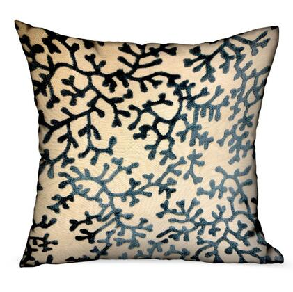 Plutus Brands Deep Blue Reef PBDU19041818DP Pillow, PBDU1904