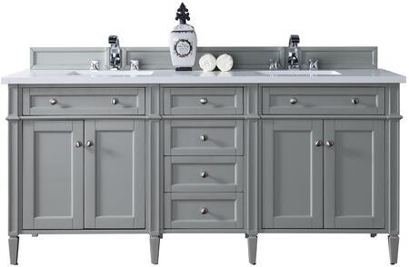 James Martin Brittany 650V72UGR2CAR Sink Vanity Gray, Main Image