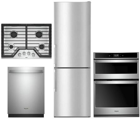 Whirlpool  1010027 Kitchen Appliance Package Stainless Steel, main image