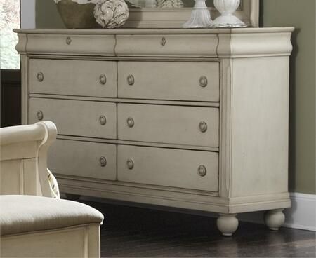 Liberty Furniture Rustic Traditions II 689BR31 Dresser White, Main Image