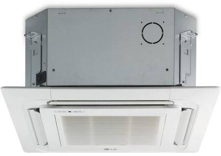 LCN128HV4 Multi F Ceiling Cassette Indoor Unit with 12000 BTU Nominal Capacity 24 Hour Timer Auto Operation Auto Restart Control Lock Jet Cool