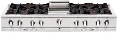 Capital Culinarian CGRT604G4N Gas Cooktop Stainless Steel, Main Image