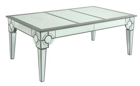Cosmos Furniture Zoe Series 2020SIZOE Dining Room Table Silver, DL 8002a3e5b57ec41708643832a9e8