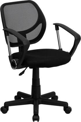 Flash Furniture  WA3074BKAGG Office Chair Black, WA3074BKAGG side