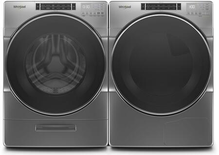 Whirlpool  979219 Washer & Dryer Set Chrome, 1
